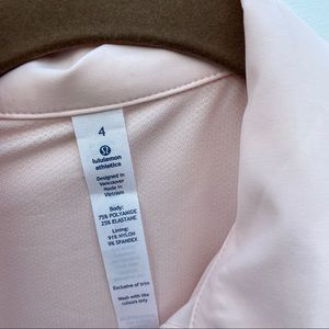 lululemon athletica Tops - Lululemon • Day Trip Blouse Parfait Pink button up